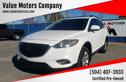 2015 Mazda CX-9 for sale at Value Motors Company in Marrero LA