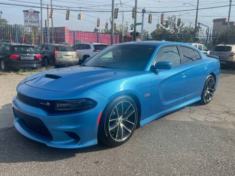 2018 Dodge Charger for sale at SKYLINE AUTO in Detroit MI