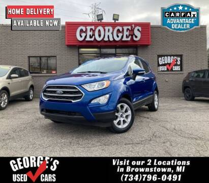 2018 Ford EcoSport for sale at George's Used Cars - Telegraph in Brownstown MI