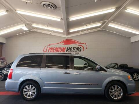 2012 Chrysler Town and Country for sale at Premium Motors in Villa Park IL
