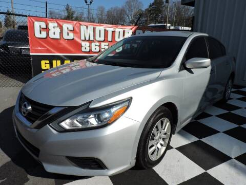 2016 Nissan Altima for sale at C & C Motor Co. in Knoxville TN