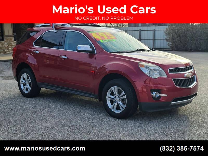 2013 Chevrolet Equinox for sale at Mario's Used Cars - Pasadena Location in Pasadena TX
