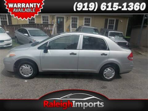 2009 Nissan Versa for sale at Raleigh Imports in Raleigh NC