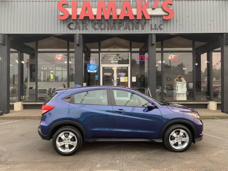 2016 Honda HR-V for sale at Siamak's Car Company llc in Salem OR