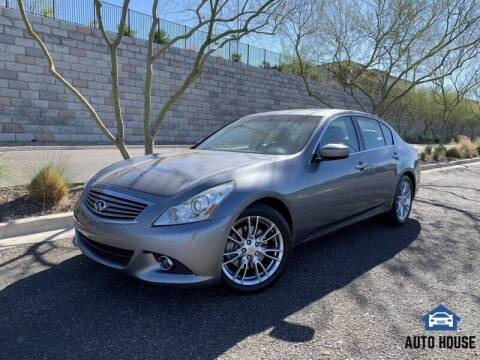 2011 Infiniti G37 Sedan for sale at MyAutoJack.com @ Auto House in Tempe AZ