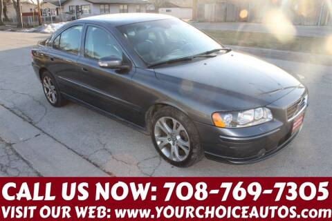 2009 Volvo S60 for sale at Your Choice Autos in Posen IL