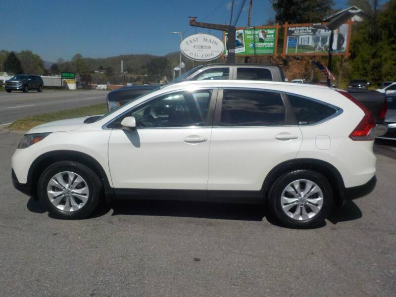 2012 Honda CR-V for sale at EAST MAIN AUTO SALES in Sylva NC