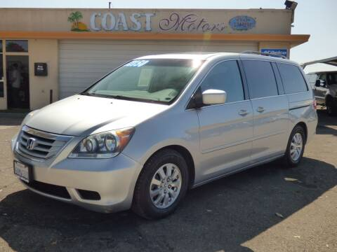 2010 Honda Odyssey for sale at Coast Motors in Arroyo Grande CA