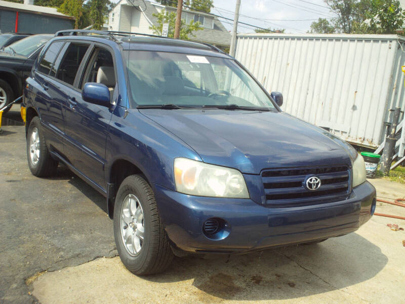 2004 Toyota Highlander for sale at Marlboro Auto Sales in Capitol Heights MD