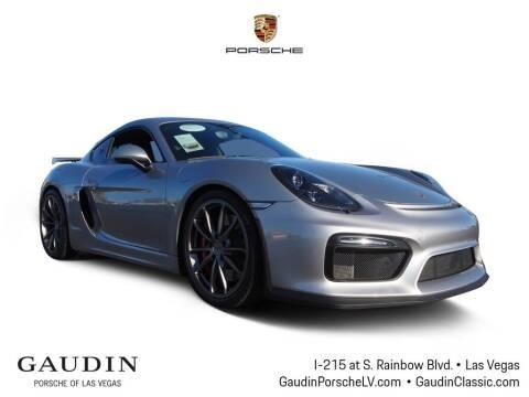 2016 Porsche Cayman for sale at Gaudin Porsche in Las Vegas NV