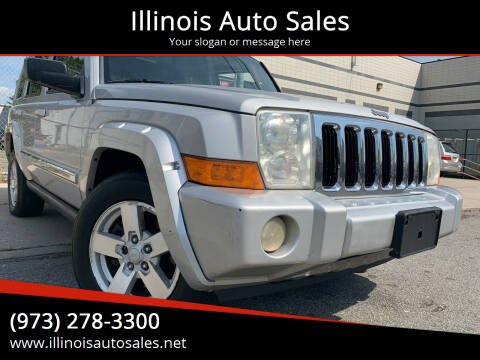 2007 Jeep Commander for sale at Illinois Auto Sales in Paterson NJ