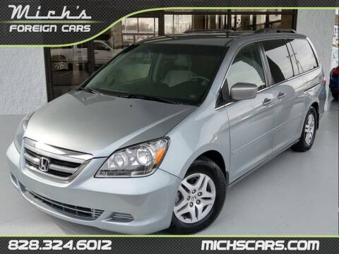 2007 Honda Odyssey for sale at Mich's Foreign Cars in Hickory NC