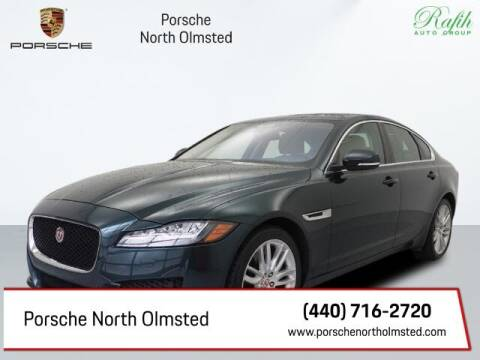 2016 Jaguar XF for sale at Porsche North Olmsted in North Olmsted OH