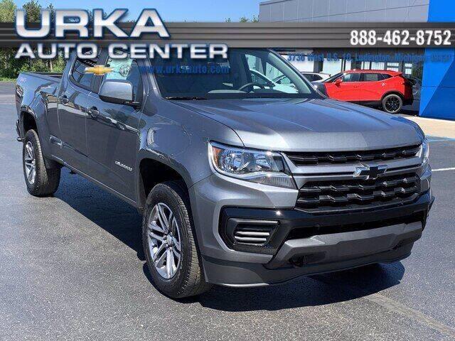 2021 Chevrolet Colorado for sale in Ludington, MI
