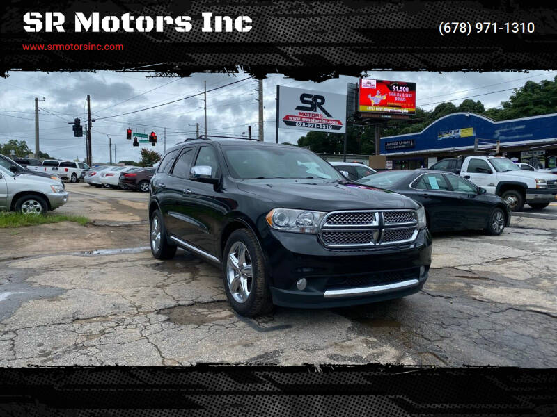 2011 Dodge Durango for sale at SR Motors Inc in Gainesville GA