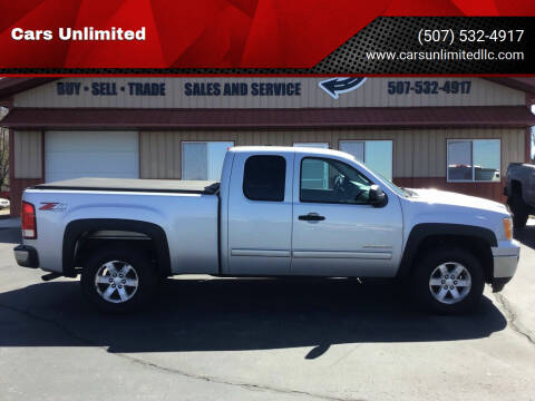2011 GMC Sierra 1500 for sale at Cars Unlimited in Marshall MN