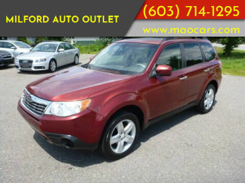 2010 Subaru Forester for sale at Milford Auto Outlet in Milford NH