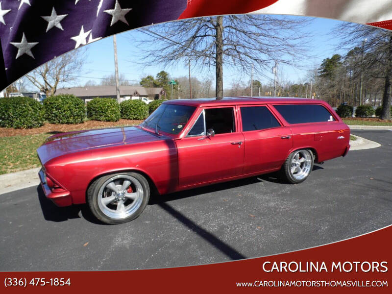 1966 Chevrolet Chevelle for sale at CAROLINA MOTORS - Carolina Classics & More-Thomasville in Thomasville NC