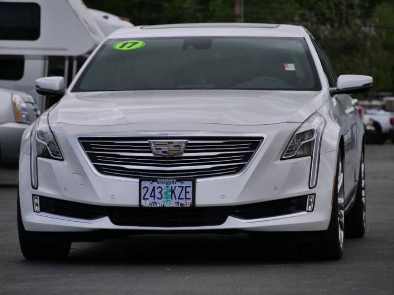 2017 Cadillac CT6 for sale at CLINT NEWELL USED CARS in Roseburg OR