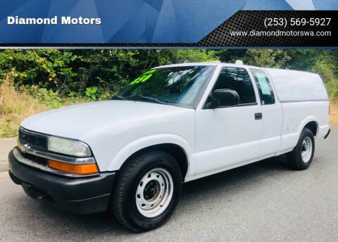 2003 Chevrolet S-10 for sale at Diamond Motors in Lakewood WA
