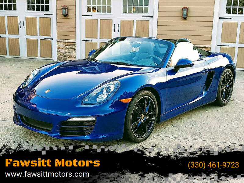 2013 Porsche Boxster for sale in Medina, OH
