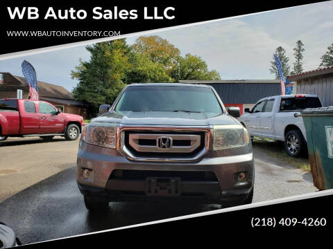 2009 Honda Pilot for sale at WB Auto Sales LLC in Barnum MN
