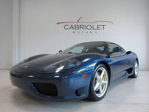 2000 Ferrari 360 Modena for sale at Cabriolet Motors in Morrisville NC
