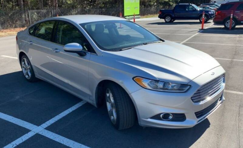 2016 Ford Fusion for sale at DON BAILEY AUTO SALES in Phenix City AL