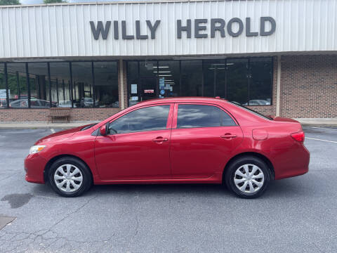 2009 Toyota Corolla for sale at Willy Herold Automotive in Columbus GA