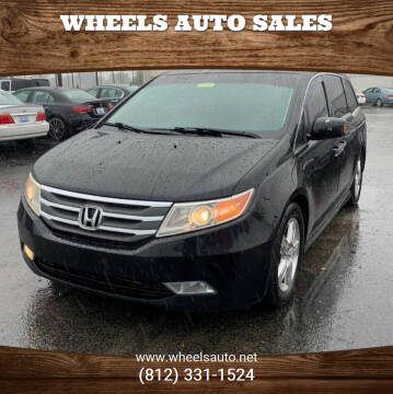 2012 Honda Odyssey for sale at Wheels Auto Sales in Bloomington IN
