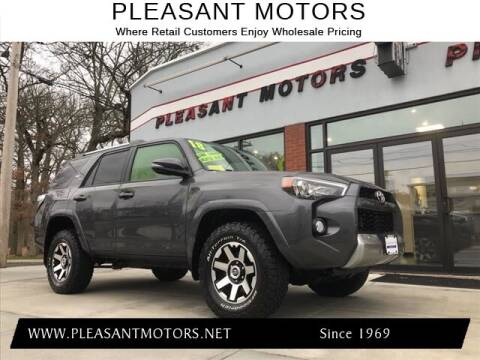 2018 Toyota 4Runner for sale at Pleasant Motors in New Bedford MA