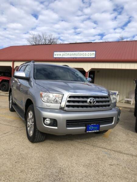 2011 Toyota Sequoia for sale at PITTMAN MOTOR CO in Lindale TX