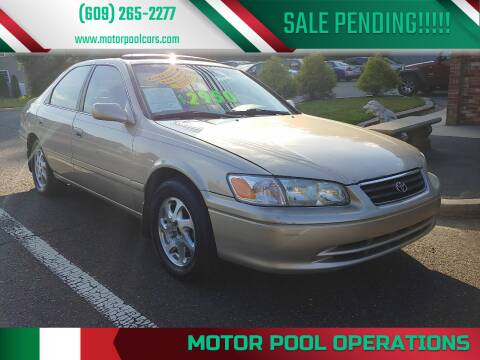 2000 Toyota Camry for sale at Motor Pool Operations in Hainesport NJ