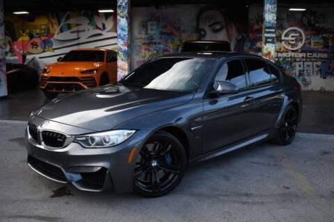 2015 BMW M3 for sale at ELITE MOTOR CARS OF MIAMI in Miami FL