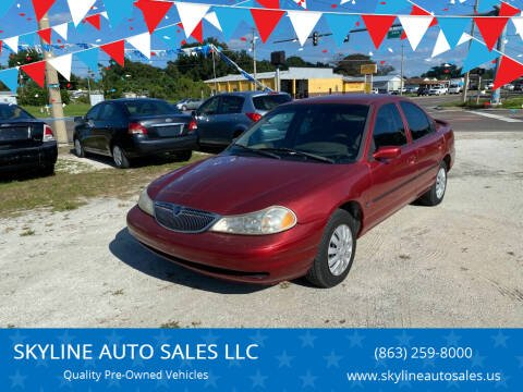 1999 Mercury Mystique for sale at SKYLINE AUTO SALES LLC in Winter Haven FL