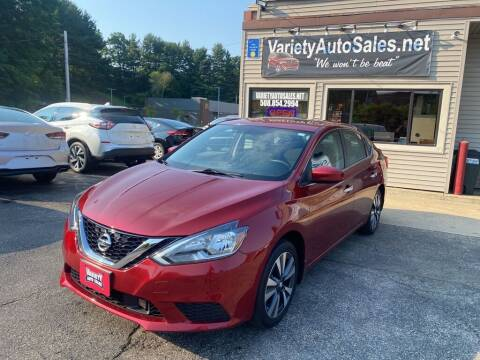 2019 Nissan Sentra for sale at Variety Auto Sales in Worcester MA
