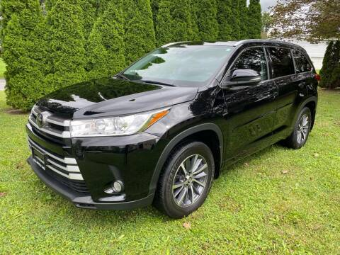 2018 Toyota Highlander for sale at Steve Rotella Sales Ltd in Syracuse NY