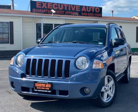 2007 Jeep Compass for sale at Executive Auto in Winchester VA