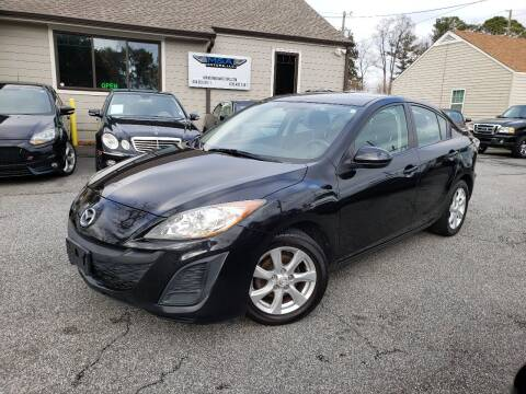 2010 Mazda MAZDA3 for sale at M & A Motors LLC in Marietta GA