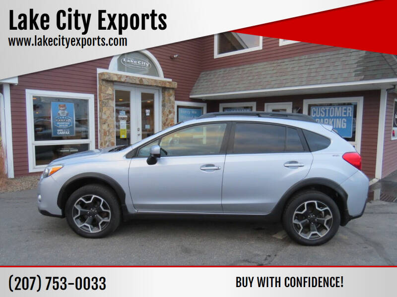 2015 Subaru XV Crosstrek for sale at Lake City Exports in Auburn ME