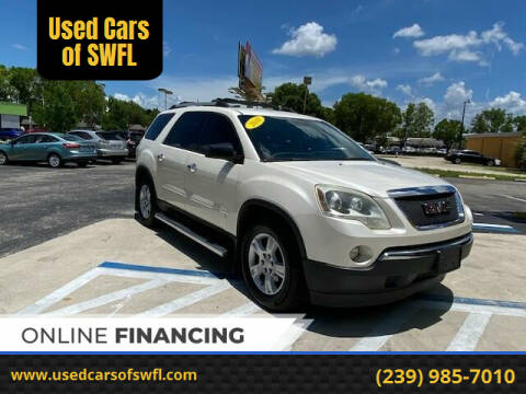 2010 GMC Acadia for sale at Used Cars of SWFL in Fort Myers FL