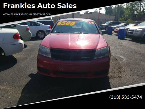 2013 Dodge Avenger for sale at Frankies Auto Sales in Detroit MI