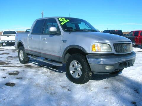 2002 Ford F-150 for sale at HORSEPOWER AUTO BROKERS in Fort Collins CO