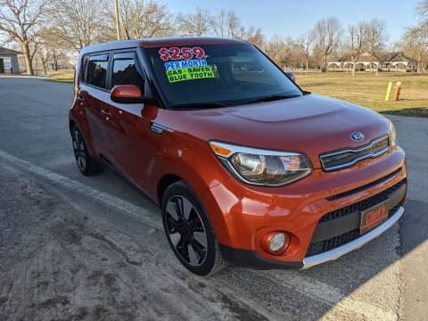 2018 Kia Soul for sale at Clarks Auto Sales in Connersville IN