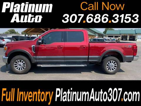 2020 Ford F-350 Super Duty for sale at Platinum Auto in Gillette WY