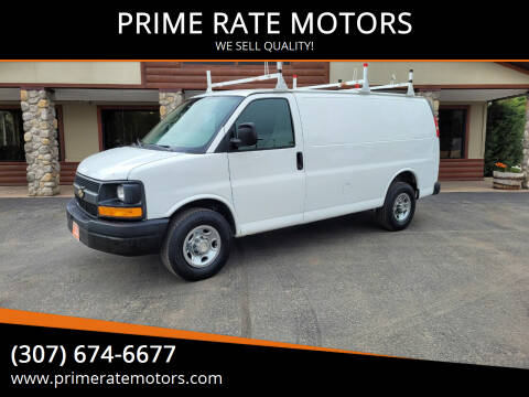 2011 Chevrolet Express Cargo for sale at PRIME RATE MOTORS in Sheridan WY