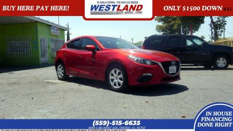 2015 Mazda MAZDA3 for sale at Westland Auto Sales on 7th in Fresno CA