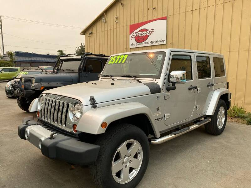 2011 Jeep Wrangler Unlimited for sale at Approved Autos in Bakersfield CA