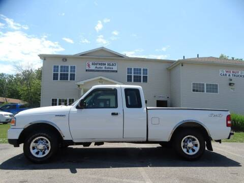 2009 Ford Ranger for sale at SOUTHERN SELECT AUTO SALES in Medina OH