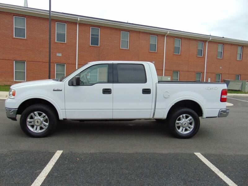 2004 Ford F-150 for sale at CR Garland Auto Sales in Fredericksburg VA